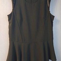 Блузки и кофточки - Блузка( с кожаными вставками на плечах) , 0