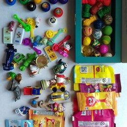 Игровые наборы и фигурки - Стиратели, скрепыши и другие мелкие игрушки одним лотом, новое и бу, 0