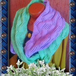 Шарфы, платки и воротники - Продам шарф, 0