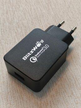 Зарядные устройства и адаптеры - Зарядное устройство BlitzWolf QC3.0, 0