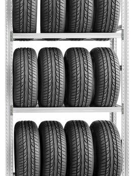 Витрины - Стеллаж для хранения колёс и дисков 200x120x50/3, 0