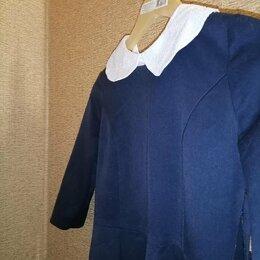 Комплекты и форма - Школьное платье с манжетками , 0