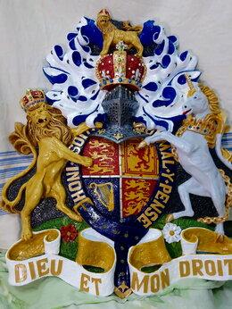 Флаги и гербы - Герб монархов Великобритании, 0