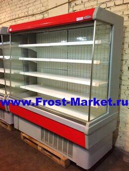 Холодильные витрины - Горка холодильная гастрономическая б у…, 0