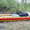 Надувной катамаран для сплава Кокшага-420 по цене 26799₽ - Надувные, разборные и гребные суда, фото 8