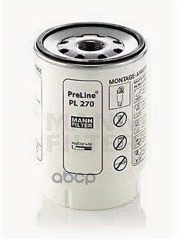 Двигатель и комплектующие  - Фильтр Топливный К Preline Pl270x MANN-FILTER P..., 0