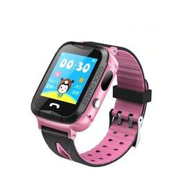 Умные часы и браслеты - Водонепроницаемые детские умные GPS часы Q528S, 0
