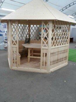 Готовые строения - Беседки садовые деревянные для дачи, 0