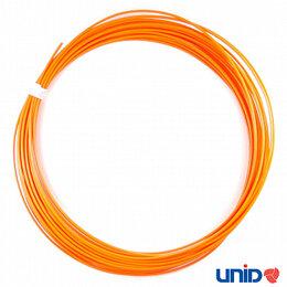 Расходные материалы для 3D печати - PLA пластик, цвет ОРАНЖЕВЫЙ, 1,75 мм., 10 метров., 0