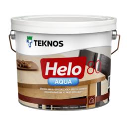 Лаки - Лак полиуретановый TEKNOS Хело Аква 80…, 0