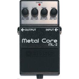 Процессоры и педали эффектов - BOSS ML-2 Metal Core Педаль эффектов гитарная, 0