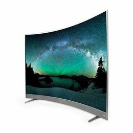 Телевизоры - Новый 4к смарт тв TCL 55P3CUS, 0