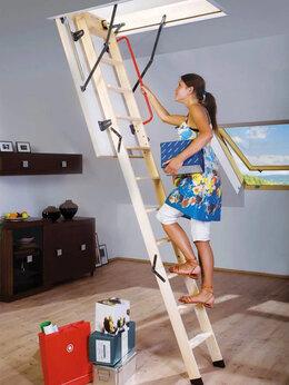 Лестницы и элементы лестниц - Чердачная лестница с люком в Воронеже, 0