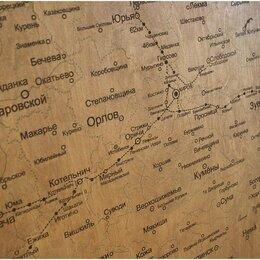 Гравюры, литографии, карты - Подробная карта Кировской области. Карта однослойная, 0