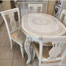 Столы и столики - гостинный   комплект  стол + 4 стула , 0