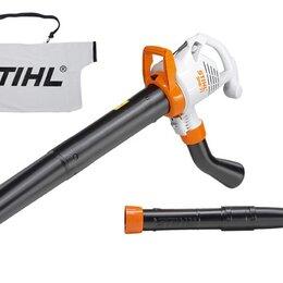 Воздуходувки и садовые пылесосы - Воздуходувка/пылесос электрическая Stihl SHE 71, 0