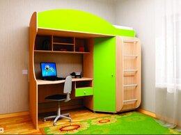 Кроватки - Детская кровать с рабочим местом, 0