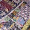 Лоскутное одеяло (покрывало) по цене 7000₽ - Пледы и покрывала, фото 2