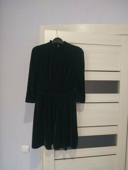 Платья - Платье  (бархат стрейч),  размер 42-44 (S), 0