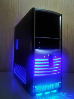 Настольные компьютеры - 2х ядерный системный блок 3gnz 2gb 250gb x1950pro, 0