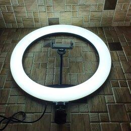 Осветительное оборудование - Кольцевая Лампа Цветная (RGB) -33см (MJ33), 0