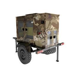 Производственно-техническое оборудование - Передвижная дизельная зарядно-разрядная…, 0