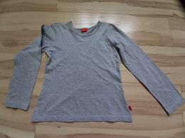 Футболки и майки - Серая футболка с длинными рукавами, 0