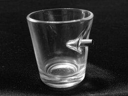 Бокалы и стаканы - Стопки,стаканы с пулей., 0