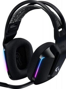 Наушники и Bluetooth-гарнитуры - Игровая гарнитура Logitech G733 Lightspeed Черные, 0