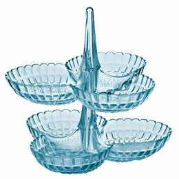 Блюда, салатники и соусники - Менажница голубая 2 штуки Tiffany, 0
