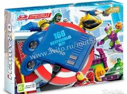 """Игровые приставки - Игровая приставка Sega """"Hamy SD"""" (166 игр) Blue, 0"""