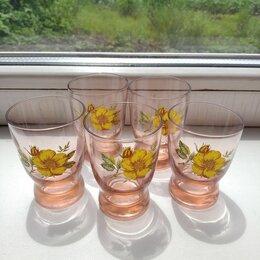 Рюмки и стопки - Рюмки цветное стекло 5 шт., 0