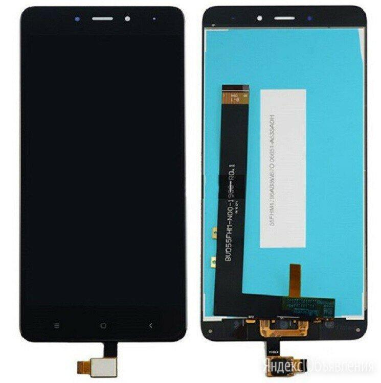 Дисплей для Xiaomi Redmi Note 4/Note 4 Pro черный  по цене 1400₽ - Дисплеи и тачскрины, фото 0
