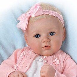 Куклы и пупсы - Виниловая кукла Аника от Ashton Drake новая в коробке, 0