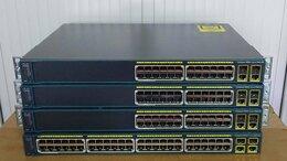 Проводные роутеры и коммутаторы - Cisco WS-2960-48PST-L, Cisco 2960-48PST-S PoE, 0