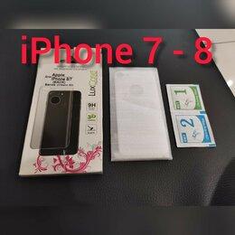 Защитные пленки и стекла - Защитное Стекло iPhone 7-8, 0
