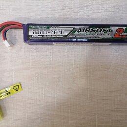 Аксессуары и принадлежности - li-po аккумулятор для страйкбола Turnigy Nano-Tech 2000mAh 7.4V, 0