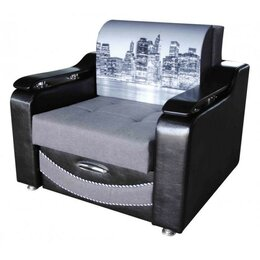 """Кресла - Кресло-кровать """"Лидер-3"""", Набережная серая, 0"""