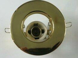 Встраиваемые светильники - Светильник точечный Е14 R39 золото, 0