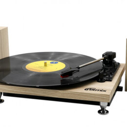 Проигрыватели виниловых дисков - Виниловый проигрыватель Ritmix LP-240, 0