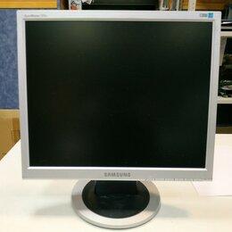 """Мониторы - Монитор с дефектом ЖК 17"""" 5:4 Samsung 721N серебри, 0"""