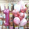 воздушные гелиевые шары лениногорск по цене 55₽ - Воздушные шары, фото 2