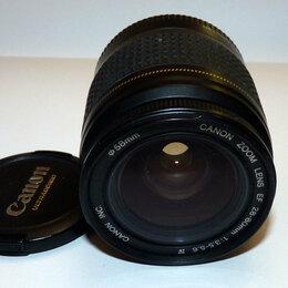 Объективы - Объектив CANON ZOOM LENS EF 28-80 мм 1:3,5-5,6 IV, 0