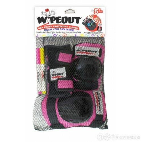 Комплект защиты Wipeout Pink (M 5+) - розовый по цене 1690₽ - Аксессуары и принадлежности, фото 0