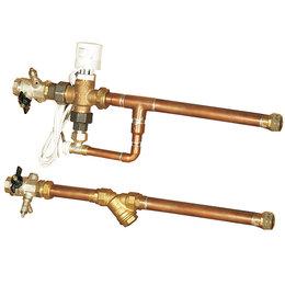 Комплектующие для радиаторов и теплых полов - Тепломаш Смесительный узел УТ-КЭВ-4, 0