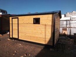 Готовые строения - Перевозная каркасная баня 4х2,4 м, 0