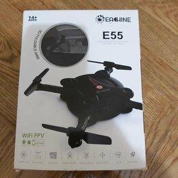 Квадрокоптеры - Квадрокоптер Eachine E55 WiFi новый, 0