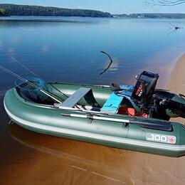 Моторные лодки и катера - Лодка ПВХ,лодочный мотор, самодельный прицеп , 0