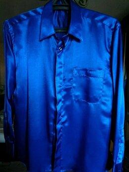 Рубашки - Рубашка шелковая атласная мужская (konsul), 0
