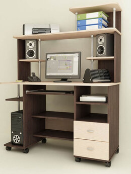 Компьютерные и письменные столы - Компьютерный стол Мартин 4, 0